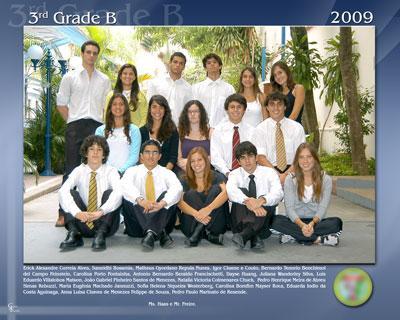 Foto de Turma mod. 04 (Capa com foto do colégio)