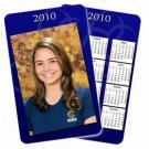 Calendário de bolso Azul Slim